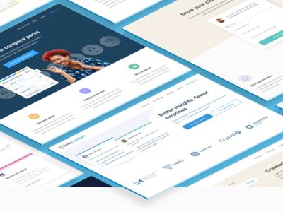Websites made with Spark platform web editor web design