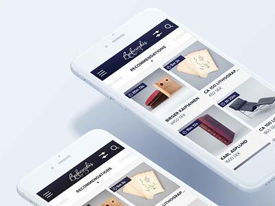 Bukowskis - Online Auctions  mobile ux ui ios