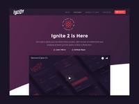 Ignite 2 - Website Redesign