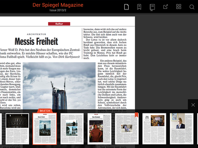 reader ui interface reader android magazine clean tablet ui app flat