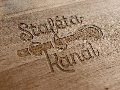 stafétakanál logo gastronomy logo identity