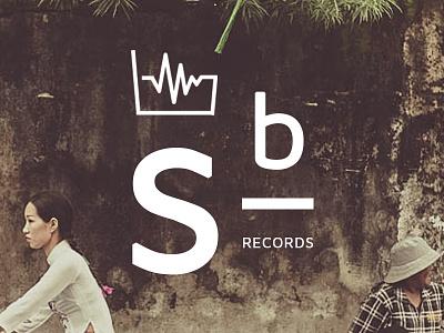 Logo Sound Bucket Records vector music clean minimal logo