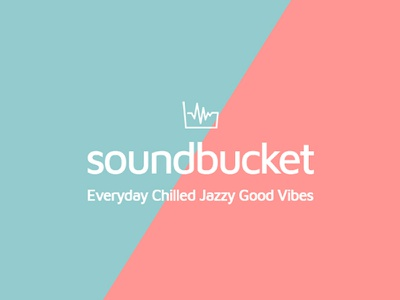 New Brand Identity Sound Bucket design logo colors brand identity