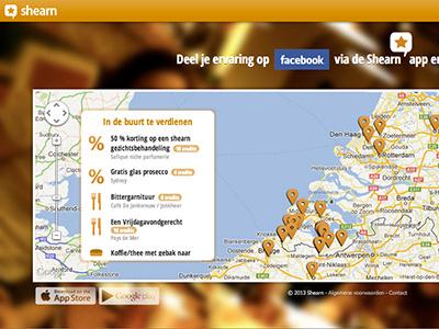 Webportal Shearn web portal shearn user interface interaction design orange app