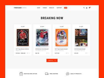 Figrehand Cards : Homepage