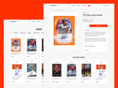 Figrehand Cards : Product Page