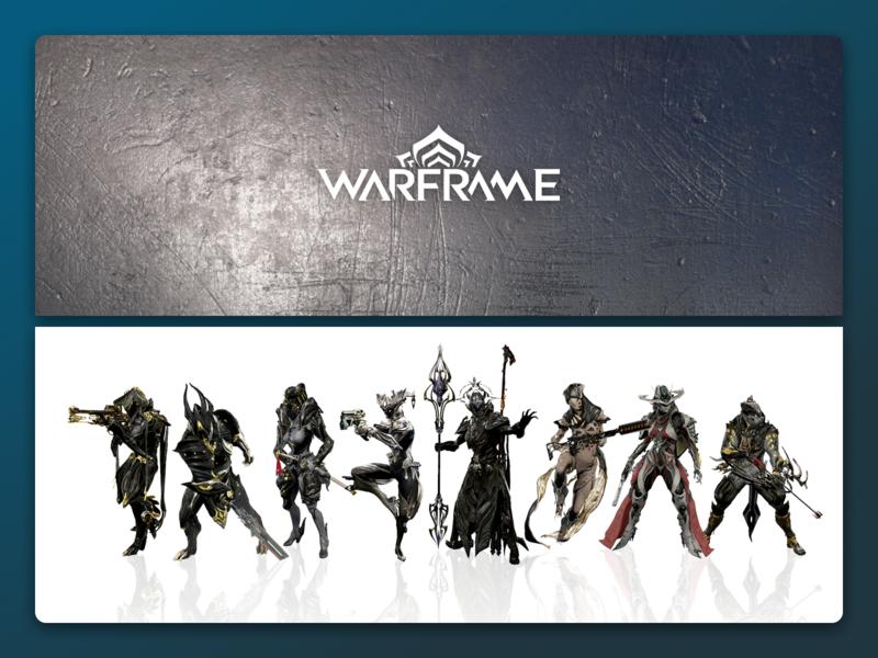 Warframe Chrome theme brave browser google chrome videogame web