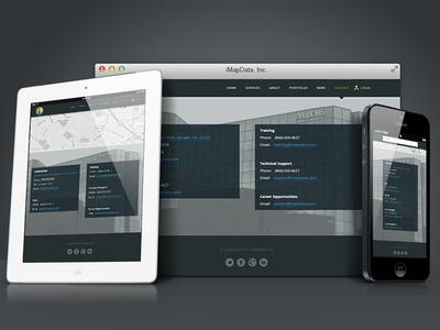 iMapData website - Contact Us