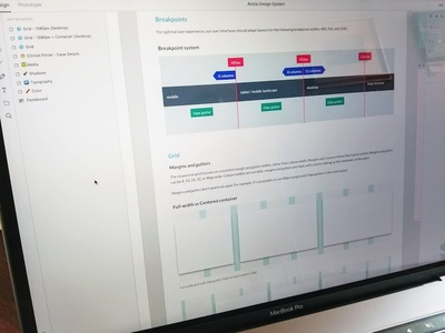 Grid System in XD adobe xd documentation framework web ui ux design system specs