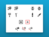 Peripheral icons 3x