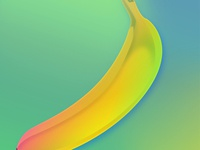 Neon Banana