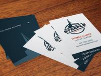 Steeple Business Card
