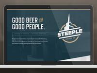 Steeple Landing Page v2
