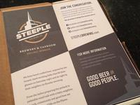 Steeple Rack Card