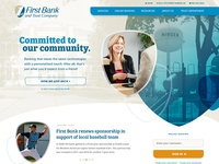 Community Bank Website