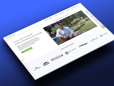 ylopo corporate site retina web vector product ui design web design ux ui