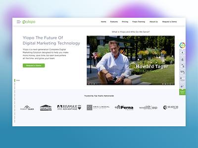 Homepage Detail vector retina web websites website concept website ui design web design ux ui