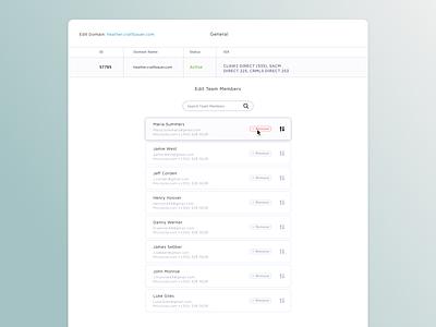 Edit Domain retina product ui design web design ux ui