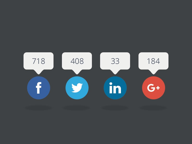 Social Share • PSD Download mobile social share share buttons share social