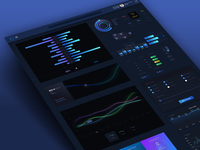 Charts / Controls UI Kit ⇢ Sketch