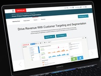 Oracle Product Page Design