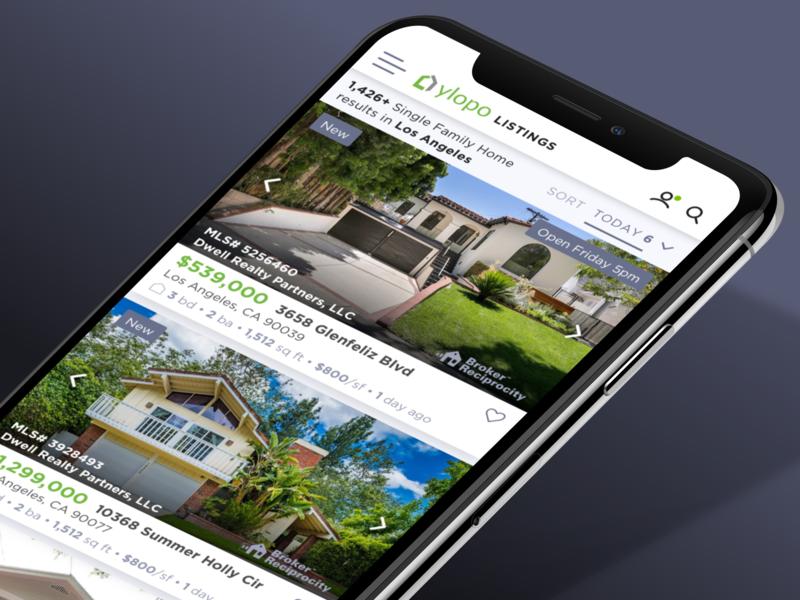 Ylopo Home Search Desktop & Mobile by Bradley Bussolini on Dribbble