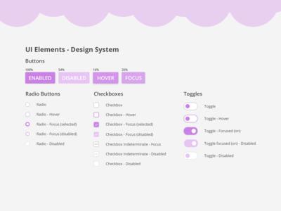 UI Elements - Design System