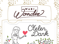 Wabi Wonder Chocolate logo close-up