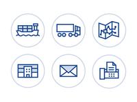 Universal Logistics Icons