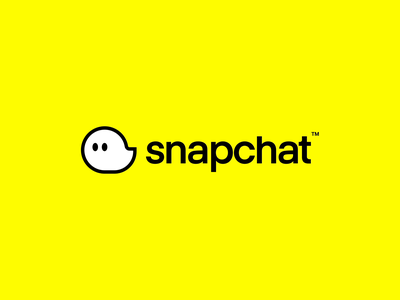 Snapchat Redesign mascot character branding design wordmark type eyes fun animation logo design message chatting icon cute bubble ghost snapchat logo