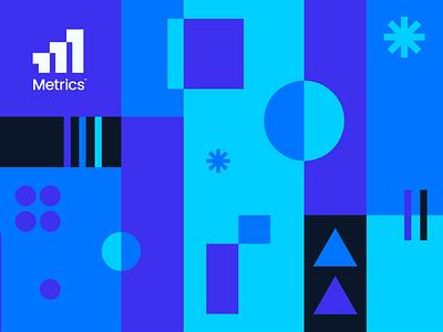 Metrics Logo concept buy for sale mark icon register check mark m letter typography design graph data bar chart analytics identity finance logo branding