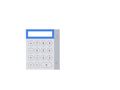 Google Drive Calculator 📡🤖 cute chart data signal robot computer calculator drive illiustration animation google