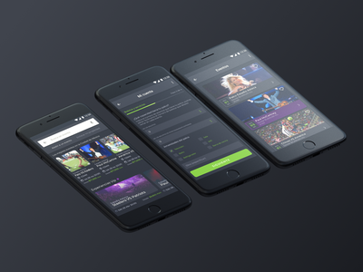 Stadibox App stadibox dark theme sports app app