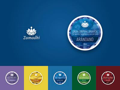 Zamadhi Branding brand design colors branding design fruits brand identity logo branding skin care