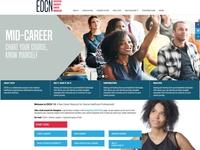 Healthcare executive diversity career site redesign