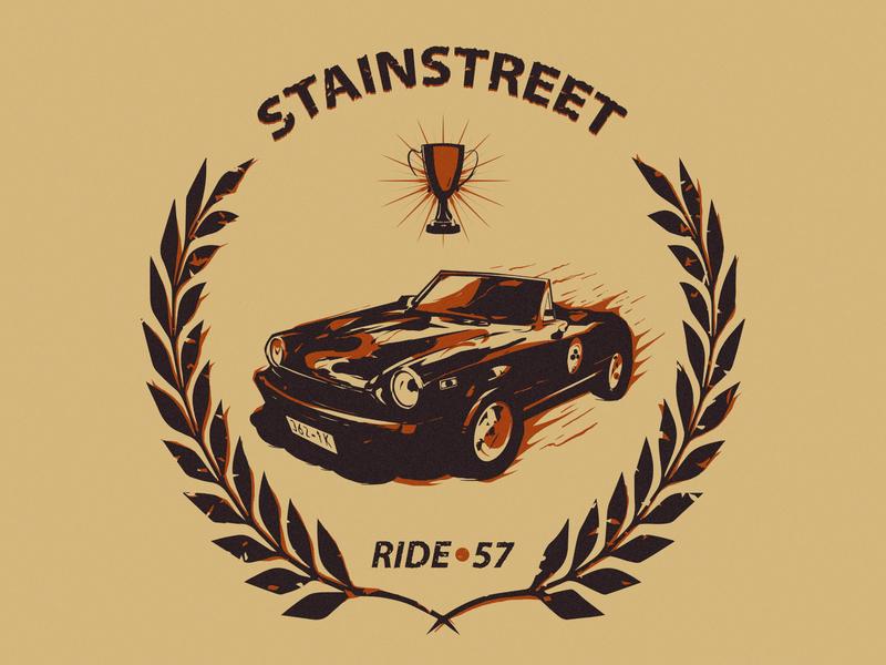 Ride of the P.Street poster poster art illustration illustrator