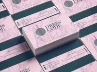 Business Card design for Dress Code Boutique Online Store