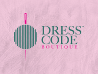 Logo design for DRESS CODE BOUTIQUE (Online Store)