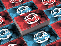 Business Card Design for ROUND CREATIONS