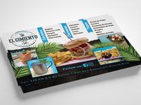 Flyer Design for El Cimiento Pool Bar
