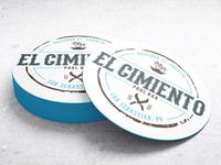 Coaster design for El Cimiento Pool Bar