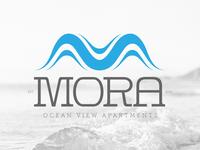 Logo design for MORA OCEAN View Apartments
