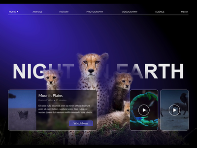 Night on Earth ui design landing page concept website design website landing design landing page landing page design website landing page website concept landing landingpage ui
