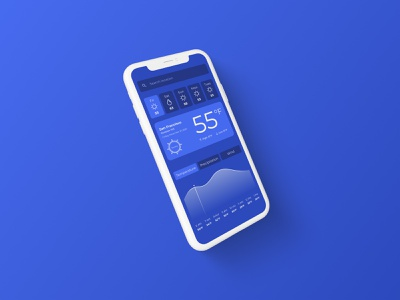It's Getting Cold ux uidesign branding design mobile app design mobile app mobile ui web mobile design mobile weather forecast weather app weather ui design ui