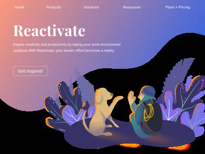 Reactivate Illustration