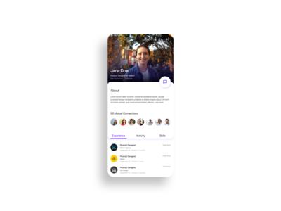 Linkedin Profile Reimagined