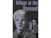 Village of the Damned poster.