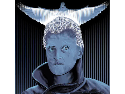 Blade Runner - Roy Batty posters movies illustration