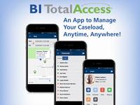 Total Access Icon Illustration App Brochure