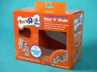 Toys R Us Move N Shake Packaging Design